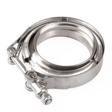 Stainless Steel Hose Clamp 304 Flange Clamp V-Band Clamp American Pipe Hoop Automobile Exhaust Turbo Exhaust Downpipe Special