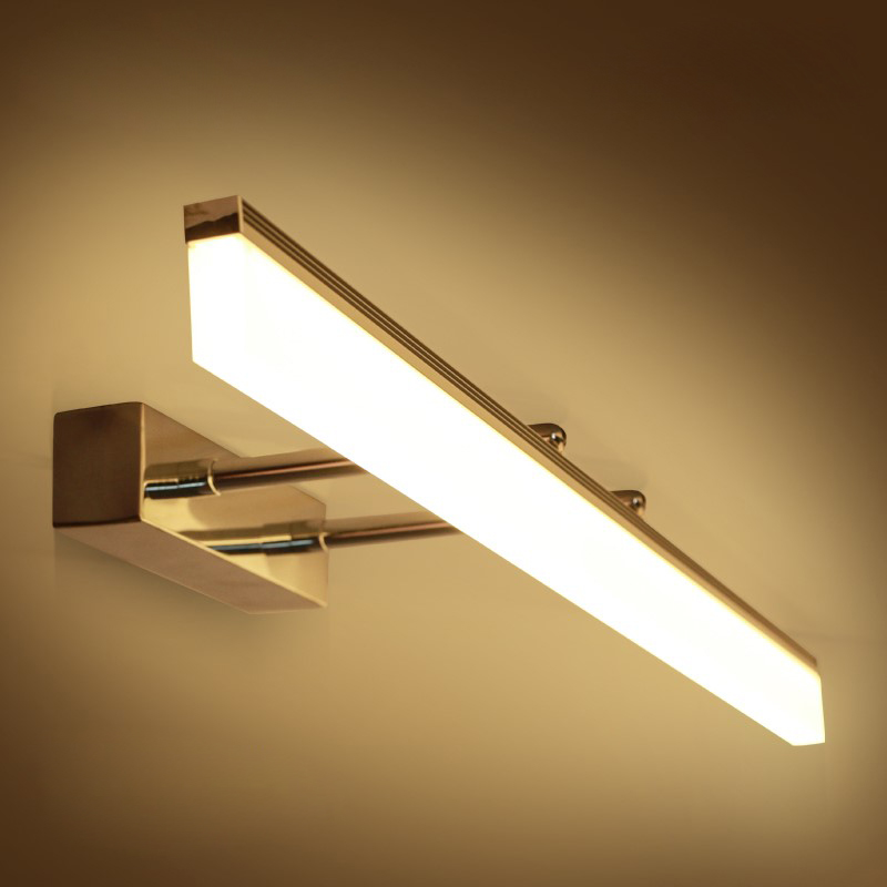9W 12W 14W 16W LED SMD 2835 Acrylic Wall Sconce Light Fixture Retractable Mirror Front Lamp