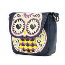 Cute bags Women's Splicing Color Shoulder Cross Body Bags Owl Pattern Holder Cover School Handbags Small Bag girls fashion bags