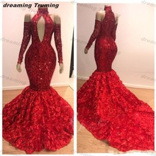 dreaming truing Prom Dresses 2019 Mermaid Evening Dress