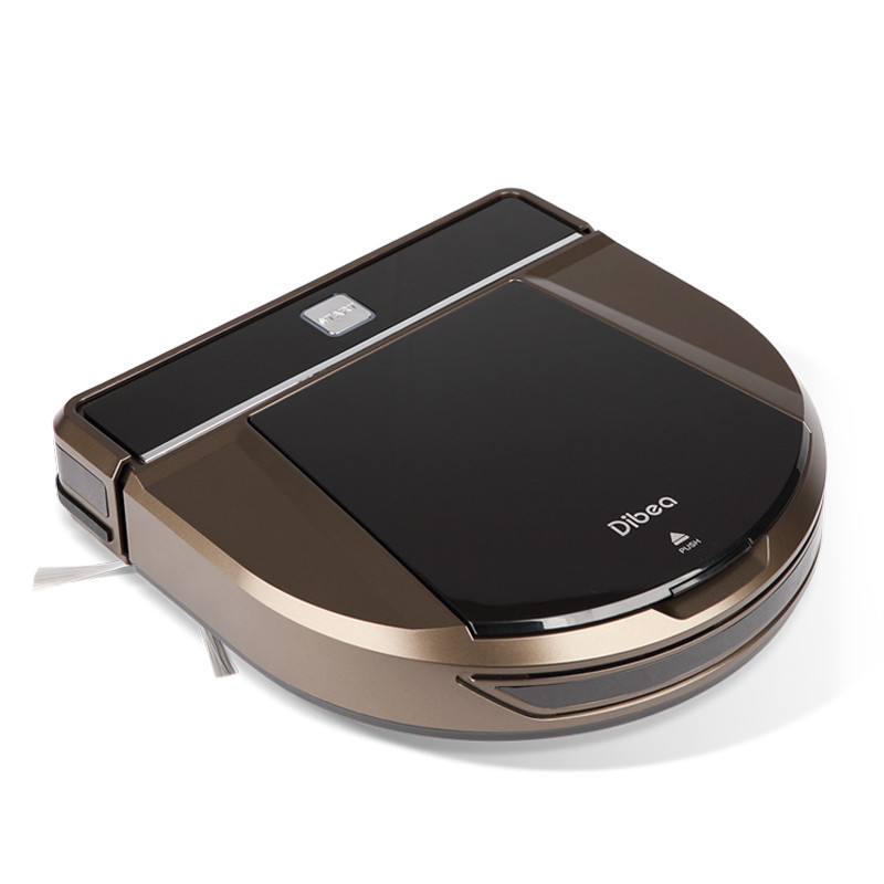 Dibea D900 Rover Wireless Robot Vacuum Cleaners For Home Aspirador Cleaner Wet Mopping Floor Cleaner Corner