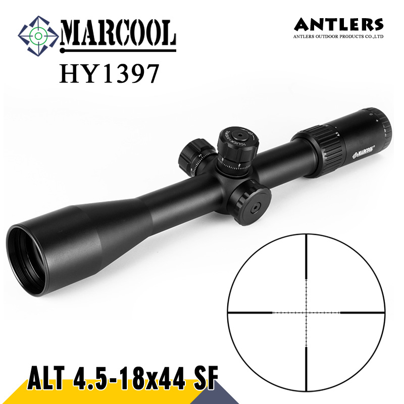 MARCOOL ALT 4.5-18X44 SF riflescope Tactical rifle scope mil dot Airgun OPTICAL SIGHT RifleScope hunting rifle and Pcp airgun tactial qd release rifle scope 3 9x32 1maol mil dot hunting riflescope with sun shade tactical optical sight tube equipment