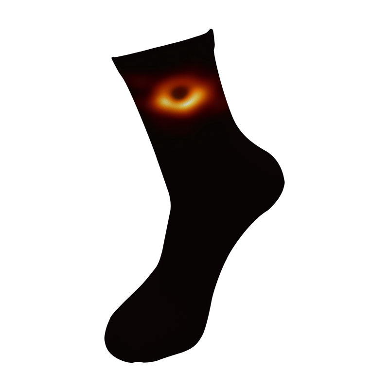 Precise Men Fashions 3d Printed Black Hole Crew Socks Men Funny Universe Pattern Long Socks Street Trend Galaxy Meteor Tube Socks Underwear & Sleepwears