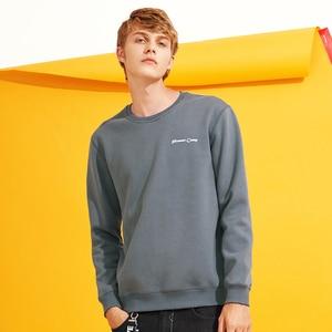 Image 2 - Pioneer Camp z polaru grube bluzy męskie zimowe ciepłe 100% bawełniane bluzy z kapturem męskie marki odzież na co dzień Plus rozmiar XXXL