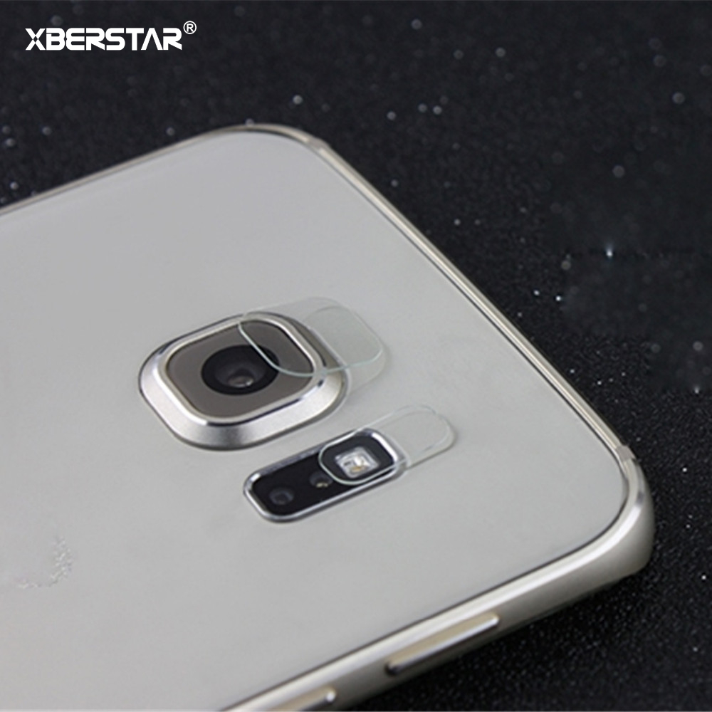 Back Transparent Camera Lens Protective Protector Guard Cover For Samsung Galaxy S6 Edge Plus Tempered Glass Film Clear