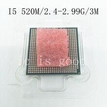 I5 520 M Тетрадь ноутбук Процессор 2,4 ГГц L3 3 м/2.5GT/s PGA официальная версия, оригинальный и аутентичный с процессор промышленный компьютер