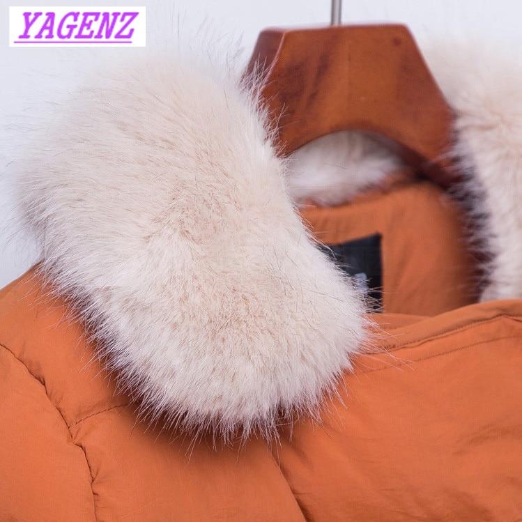 Mode Pardessus Femmes Vers Coton orange pink Bas armygreen Slim Double Survêtement Hiver B251 Exquis Veste Court Le Épaissir Breasted Jeunes De Black gacq0
