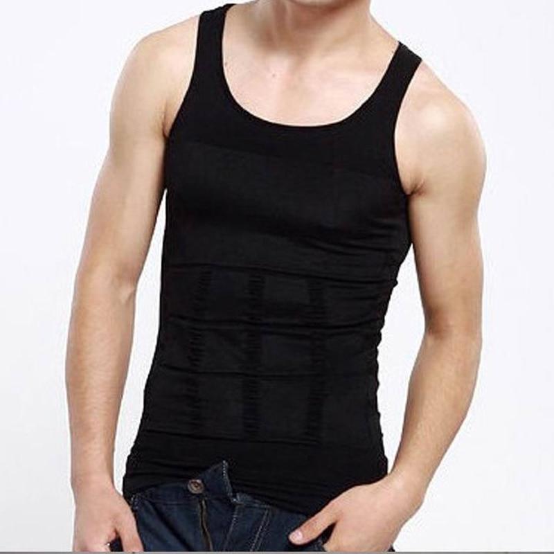 Men's Body Sculpting Vest Winter Tights Slim Lift Thin Chest Waist