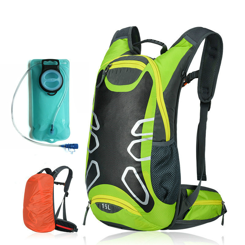 15L Sports Water Bags Hydration Bladder Pack Waterproof Cycling Backpack Outdoor Climbing Camping Hiking Bags Ciclismo
