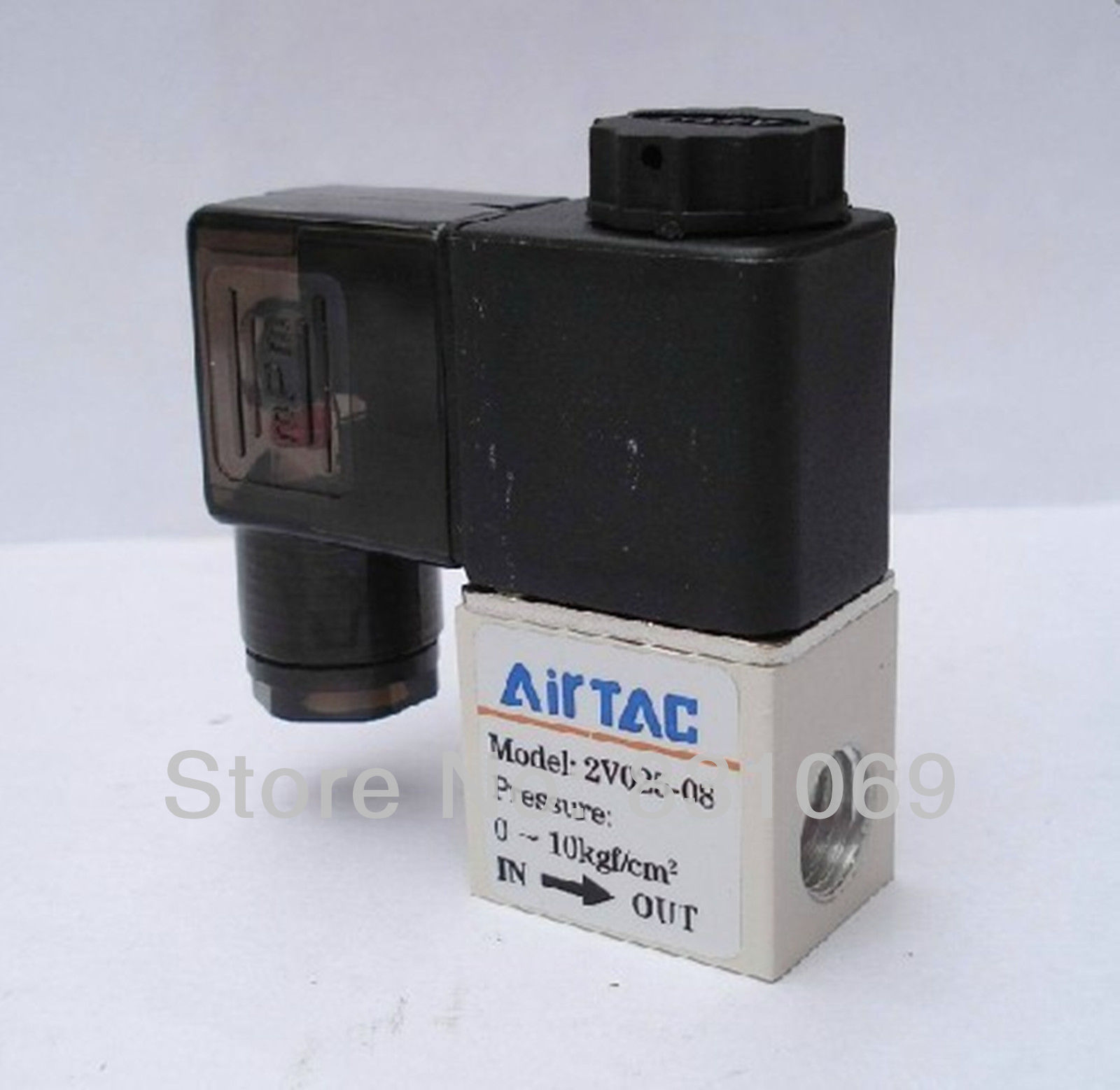 1pcs 2V025-08 DC 12V PT1/4 Solenoid Valve 2 Position 2 Way Normally Closed IP65 Brand New free shipping normally closed solenoid valve 2v025 08 220vac 1 4 high qulity for water air gas 2v sereis two way valve