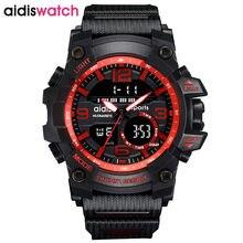 Horas marca relojes Relógio À Prova D' Água Ao Ar Livre Estilo Esportivo G Choque Relógios Homens Relógios de Quartzo Militares Relógio Digital LED Relógio de Pulso