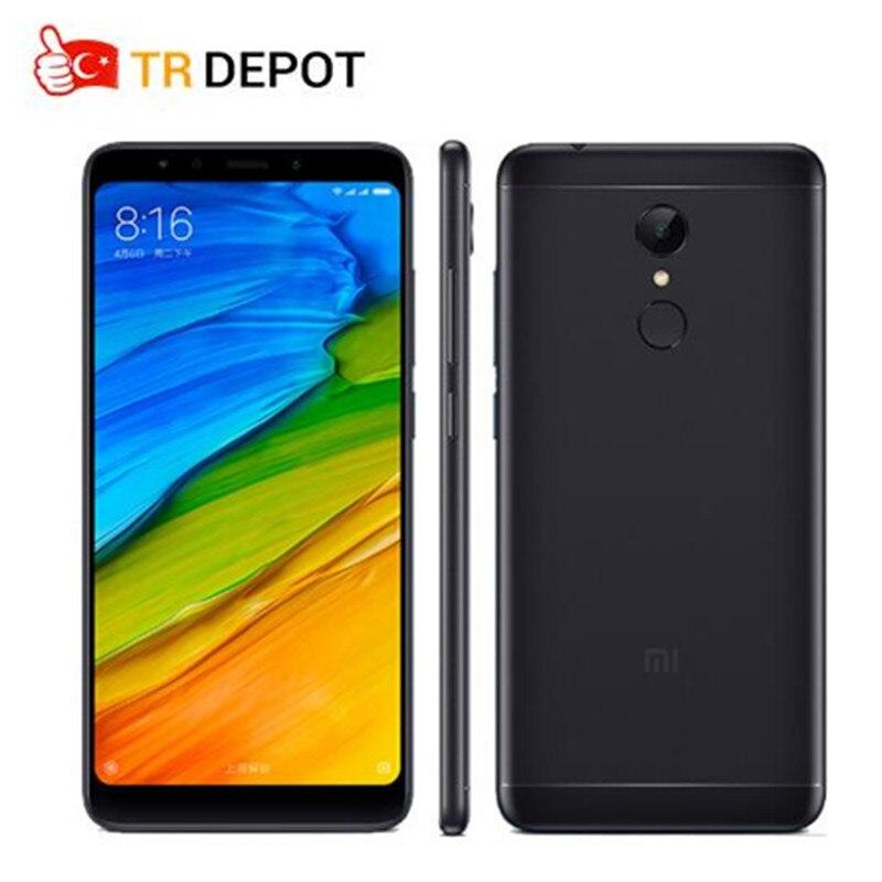 Original Xiaomi Redmi 5 2GB 16GB 5.7″ HD 18:9 Full Screen Smartphone Snapdragon 450 Octa Core Fingerprint ID MIUI 9 3300mAh
