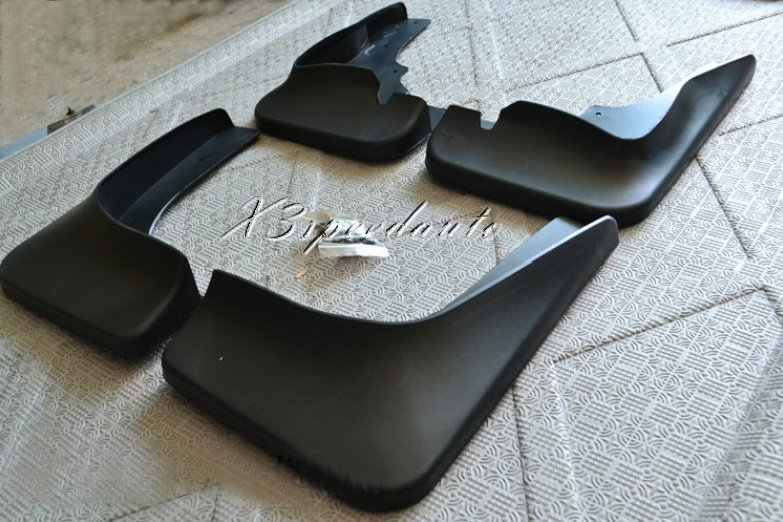 New High Quality 4PCS Black Soft Plastic Fenders Mudguards For Mitsubishi Outlander 2009 2014