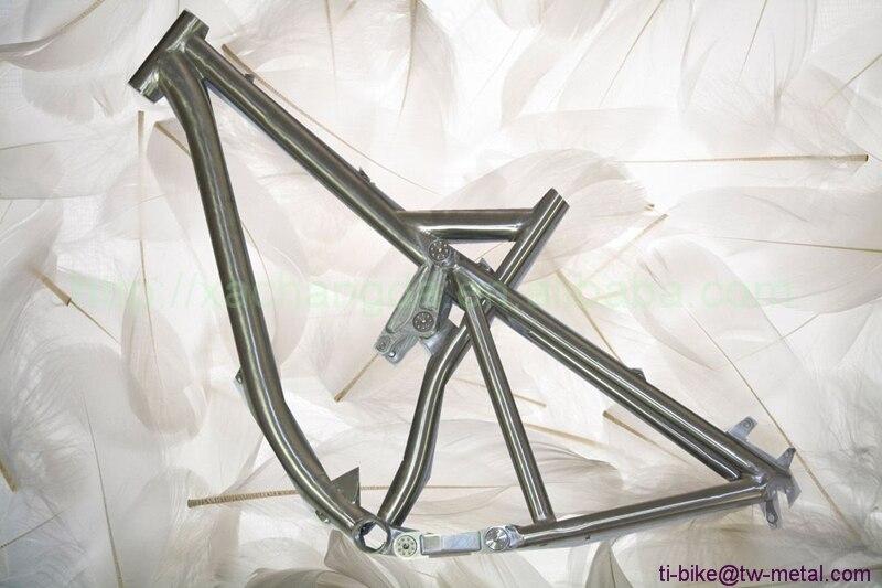 Suspension-Frames Titanium Bicycles-Frame Bikes Hot-Sale High-Quality