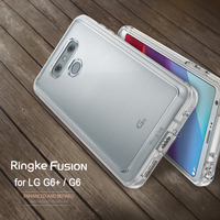 Ringke Fusion LG G6 G6 Plus Case Crystal Clear PC Back Panel TPU Frame Hybrid Military Grade Drop Proof Phone Cases For LG G6+