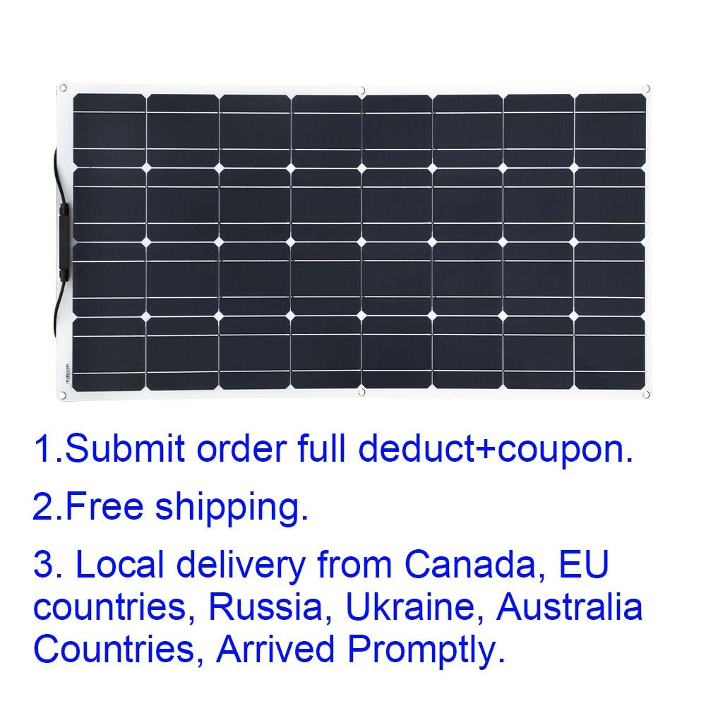 XINPUGUANG 16v 100W solar panel 100 watt photovoltaic solar cell module foldable kit fotovoltaico solar 12v car battery charger portable solar panel 12v 150w painel solar fotovoltaico solar battery charge battery photovoltaic panel china rv camper