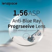 1.56 1.61 1.67 Anti Blue Ray Progressive Aspheric Optical Eyeglasses Prescription Lenses