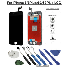 for iphone 6s display touchscreen assembly replacement 6 plus LCD screen digitizer