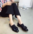 2016 Girl's Casual Flat Shoes Balck Bowties Shoes Woman Flats Dress Shoes Fashion Dress Shoes Comfortable High Quality Brand
