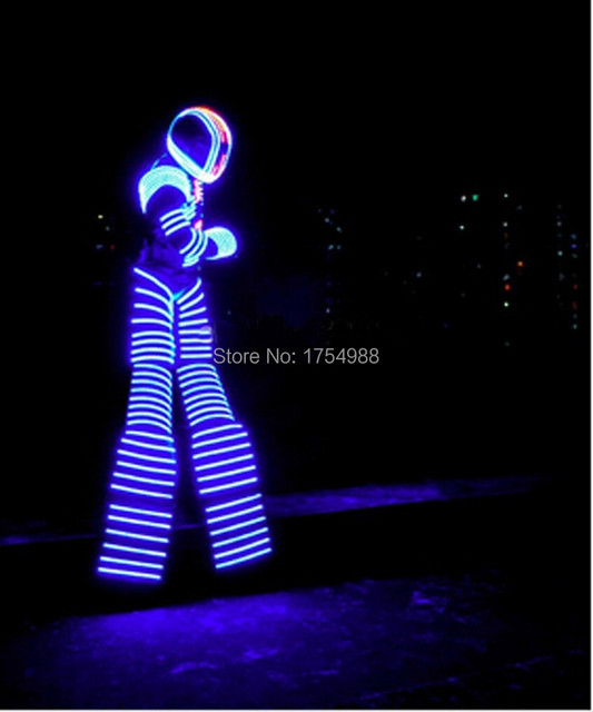 Night clubs event party supplies led light up robot dance led david night clubs event party supplies led light up robot dance led david guetta kryoman robot luminous aloadofball Image collections