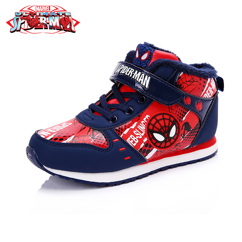 Disney Princess Cartoon Winter Pu Waterproof Girls Casual Shoe 5  Pattern Choose Boy Spiderman Autumn high-tops Shoes DS2099 пазл origami disney disney princess рапунцель со стразами