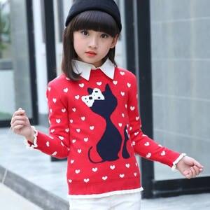 650d7152c31287 KAQUKAQI Children Kids Winter Knitting Turtleneck Sweaters