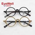 2017 Vintage unisex optical eyeglasses retro round frame eyeglasses for women and men eyewear frames most popular new arrival