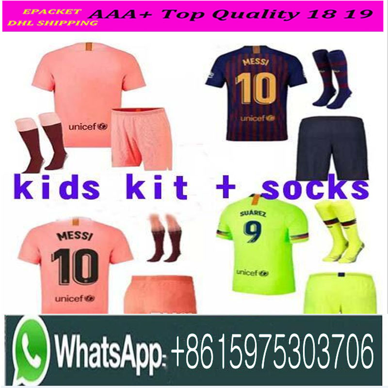 01c9ff35170 Buy barcelona kids football kit and get free shipping on AliExpress.com