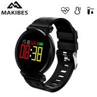 Makibes K2 Smart Bracelet Blood oxygen detection Blood Pressure Heart Rate Monitor IP68 waterproof Multilingual push Wristband
