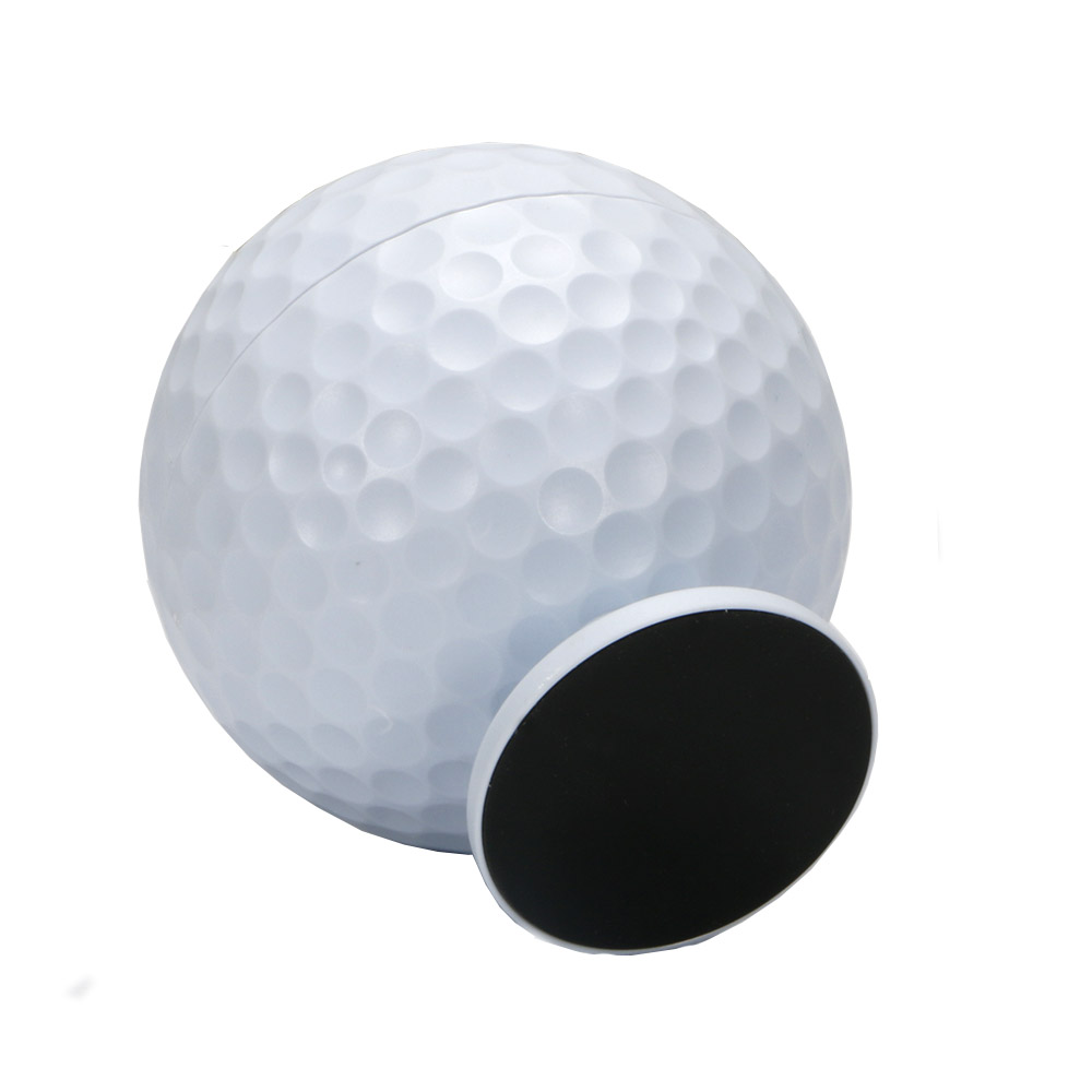 Image 3 - Golf ball Toothpick Pressing Automatic Toothpick Box Personality Portable Toothpick Bucket free shipping-in Golf Training Aids from Sports & Entertainment