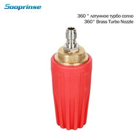 sooprinse 2020 universal pressao arruela bocal de espuma alta pressao arruela tomada encaixe rotativo 1