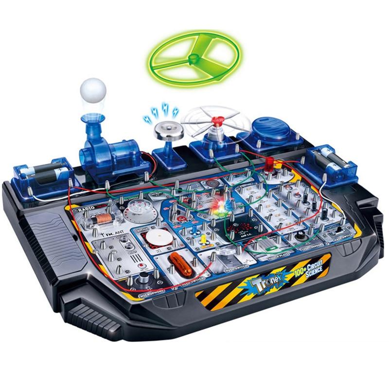 Jouet éducatif de Science de jouet d'expérimentation physique, jouets d'apprentissage de technologie d'expérimentation de physique créative pour des enfants BLWLSY