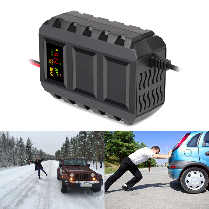 12 V 20A LED Display Car Battery Charger 110-240 V Automobile Intelligente Veicolo Caricabatteria Auto Caricabatteria