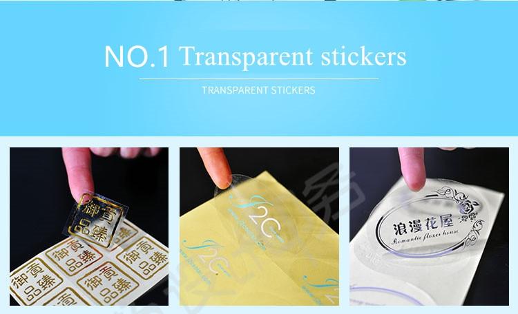 NO.1 transparent PVC003_