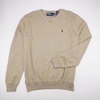 POLO RALPH LAUREN Новый CrewNeck пуловер свитер с длинным рукавом загар мужские L