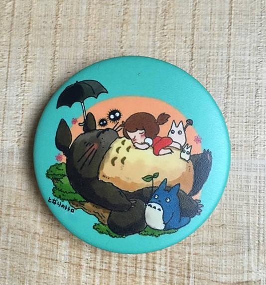 6Pcs My Neighbor Totoro Brooches Pins