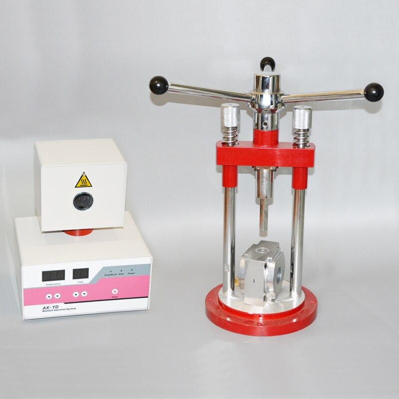 Valplast prothèse injection machine pour Prothèses Souples faire dentaire Flexible système d'injection