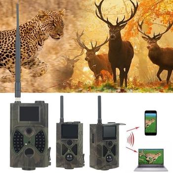 HC300M HC300A Câmera HD IR Digital Infrared Trail Caça Câmera Chasse 12MP GSM GPRS Caça Câmera Scouting Câmera De Vídeo À Noite