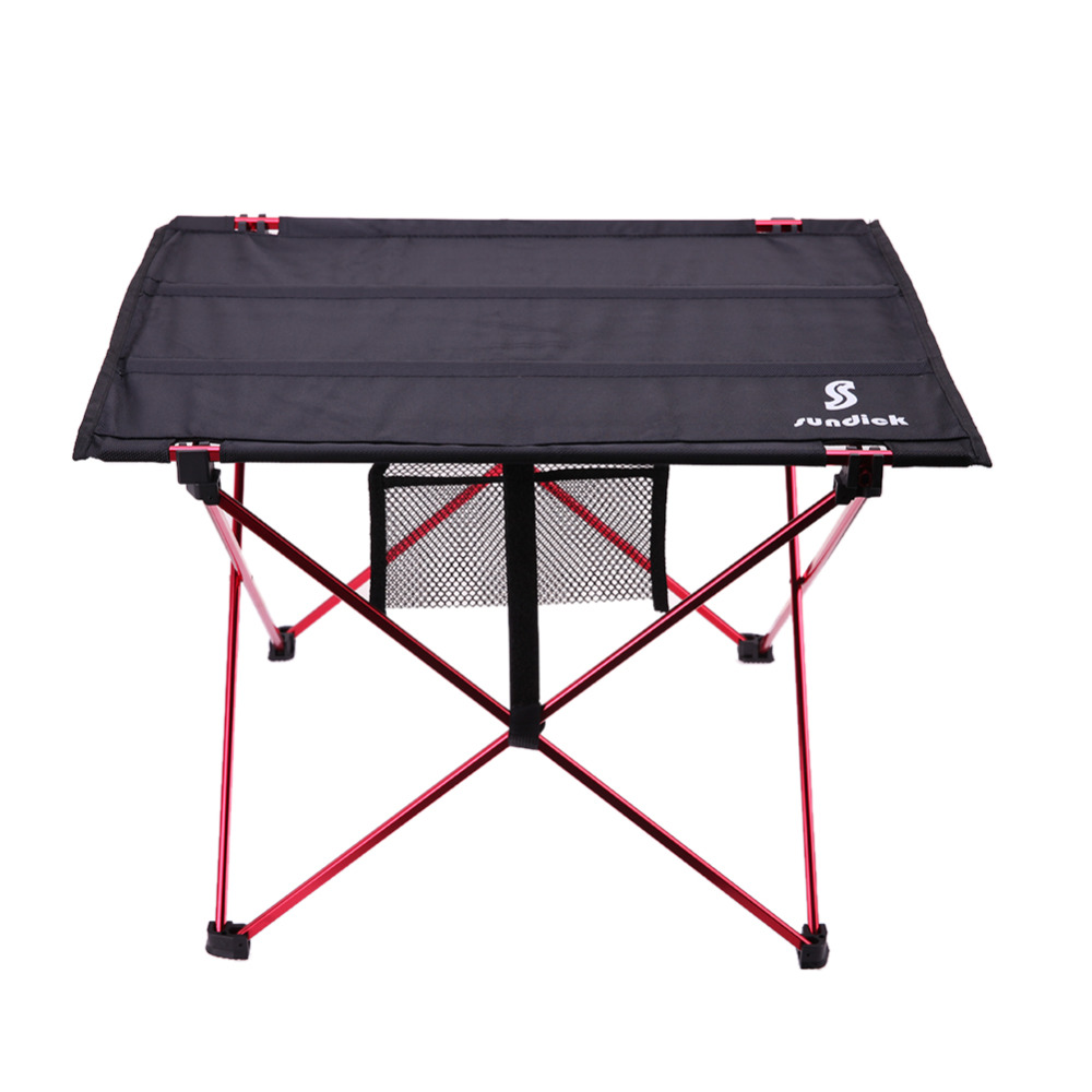 Outdoor Folding Table Camping Aluminium Alloy Picnic Table Waterproof Ultra-light Durabl ...