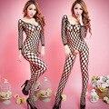 Жаккард Сиамские мешок сетка перспективы sexy цельный ажурные чулки сексуальное женское белье костюм экзотические одежды аксессуар