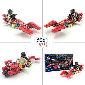 Image 4 - 市警察シリーズミニ警察パイロット労働者ブロック教育ビルディングブロック玩具互換legoing市の子供キッズおもちゃギフト