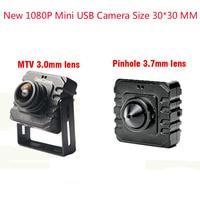 NEW 1080P Mini USB Camera Size 30*30 MM USB 2.0 CCTV Camera With USB Camera Mini Webcam For use Windows Computer PC Laptop
