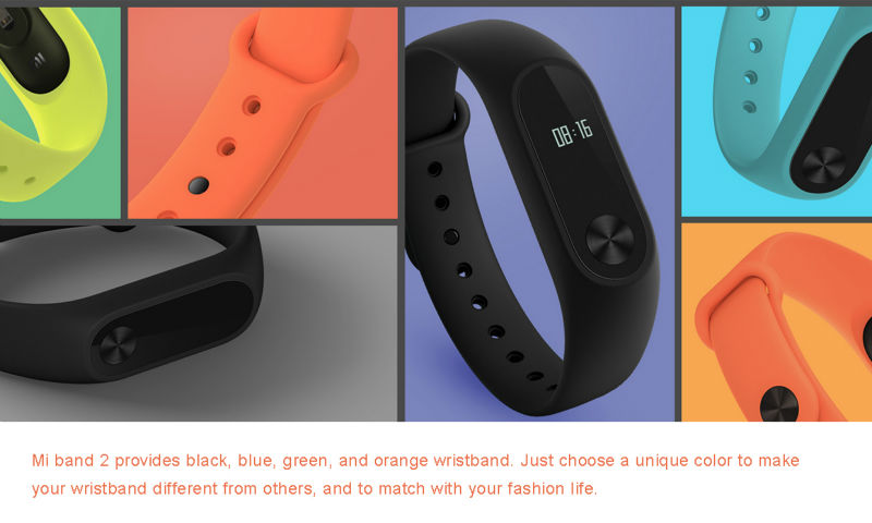 Xiaomi Mi Band 2 Fit Replacement Smart MI Band 2 Touchpad Screen Heart Rate Monitor Pedometer Wristband IP67 FitnessTracker 25