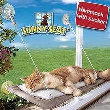 Great cat hammock / hanging bed with suckers