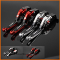 For DUCATI 1098 1198 1199 899 Panigale Motorcycle Accessories CNC Billet Aluminum Folding Extendable Brake Clutch Levers