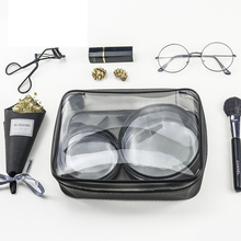 PVC Transparent Waterproof Cosmetic Bag Beauty Pouch Makeup Clear Toiletry Storage Case Organizer Accessories