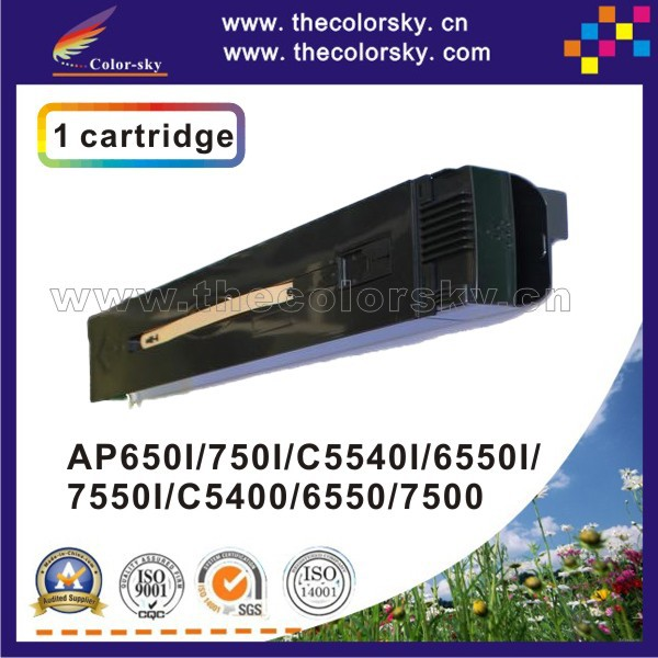 (CS-XDCC6550) compatible toner printer cartridge for Xerox AP 750I 650I C5540I 6550I 7550I 5540 650 750 6550 7550 31.7K/31.7K compatible laser printer reset toner cartridge chip for toshiba 200 with 100% warranty