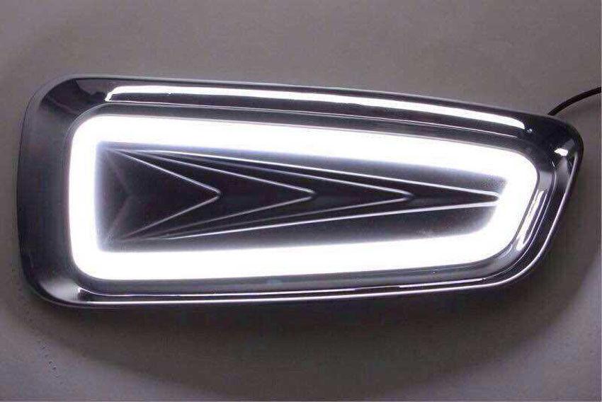 White LED Driving Fog Light Lamp Kit Fit for Ford F-150 SVT Raptor Recon 2010-2015