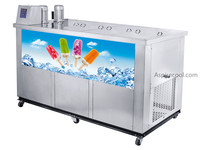 Ice Pop Machine Popsicle Machine 26000~28000 pcs/day Stainless Steel 50Hz 220V/50Hz