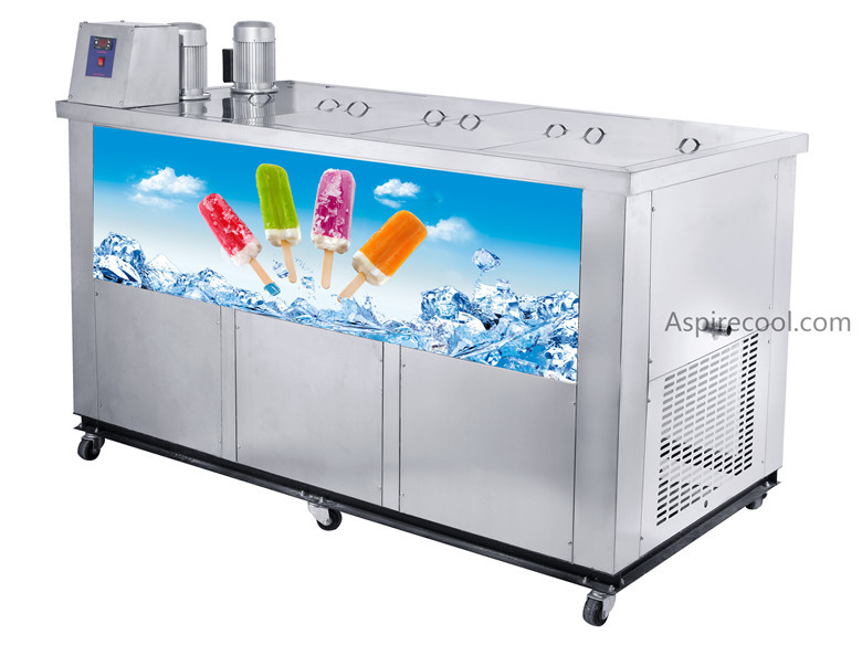 Ice Pop Machine Popsicle Machine 26000~28000 pcs/day Stainless Steel 50Hz 220V/50Hz graphics